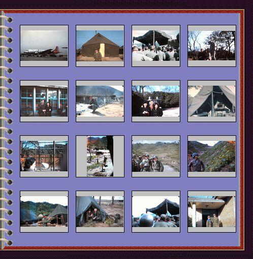 Bill Thomsen Misc Korean War Photos From Garage Sales